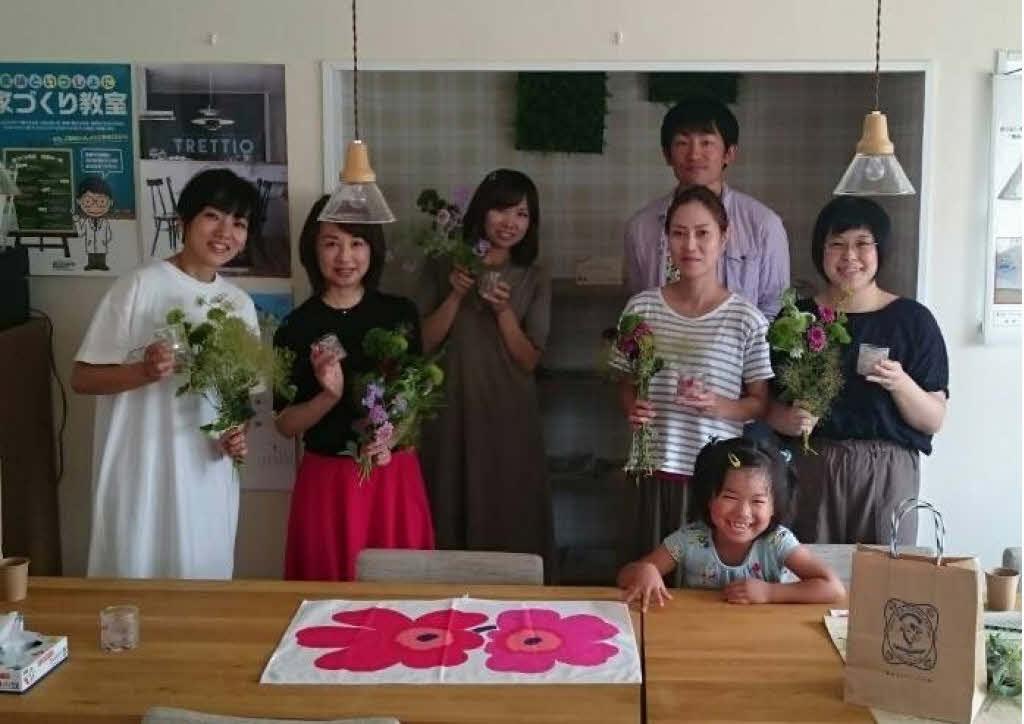 7月キャンドルとお花の『テーブルフォト』テクニックイベント報告